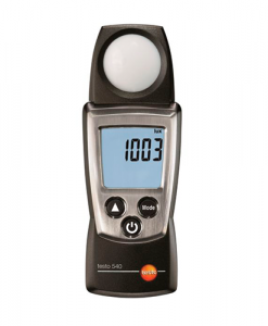 Medidor de Intensidade de Luz Testo540 - Haiceland. Não perca a oportunidade de conhecer a Gama e produtos de medição Testo. Saiba mais em www.haiceland.com