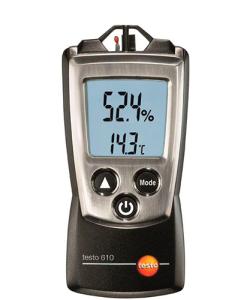 Medidor de Humidade e Temperatura Ambiente Testo610 - Haiceland. Conheça a ampla Gama e produtos de medição Testo. Saiba mais em www.haiceland.com