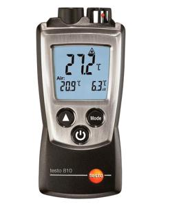 Medidor de Temperatura Ambiente e Superfície por IR Testo810 - Haiceland. Não perca a oportunidade de conhecer a Gama e produtos de medição Testo.