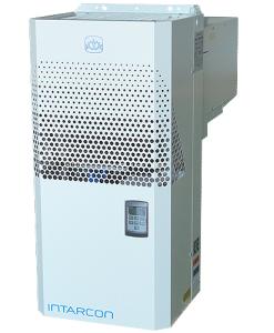 Unidade Compacta de Parede Axial Intarcon MCV-NF-0008 - Equipamento Compacto Monobloco para montagem sobre a parede em câmaras frigorificas.