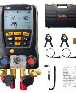 Analisador de Refrigeração Digital Testo 557 com App e Bluetooth - Haiceland. Não perca a oportunidade de conhecer todos os produtos aqui. www.haiceland.com